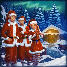 escape game hivernal noel Christmas en réalité virtuelle